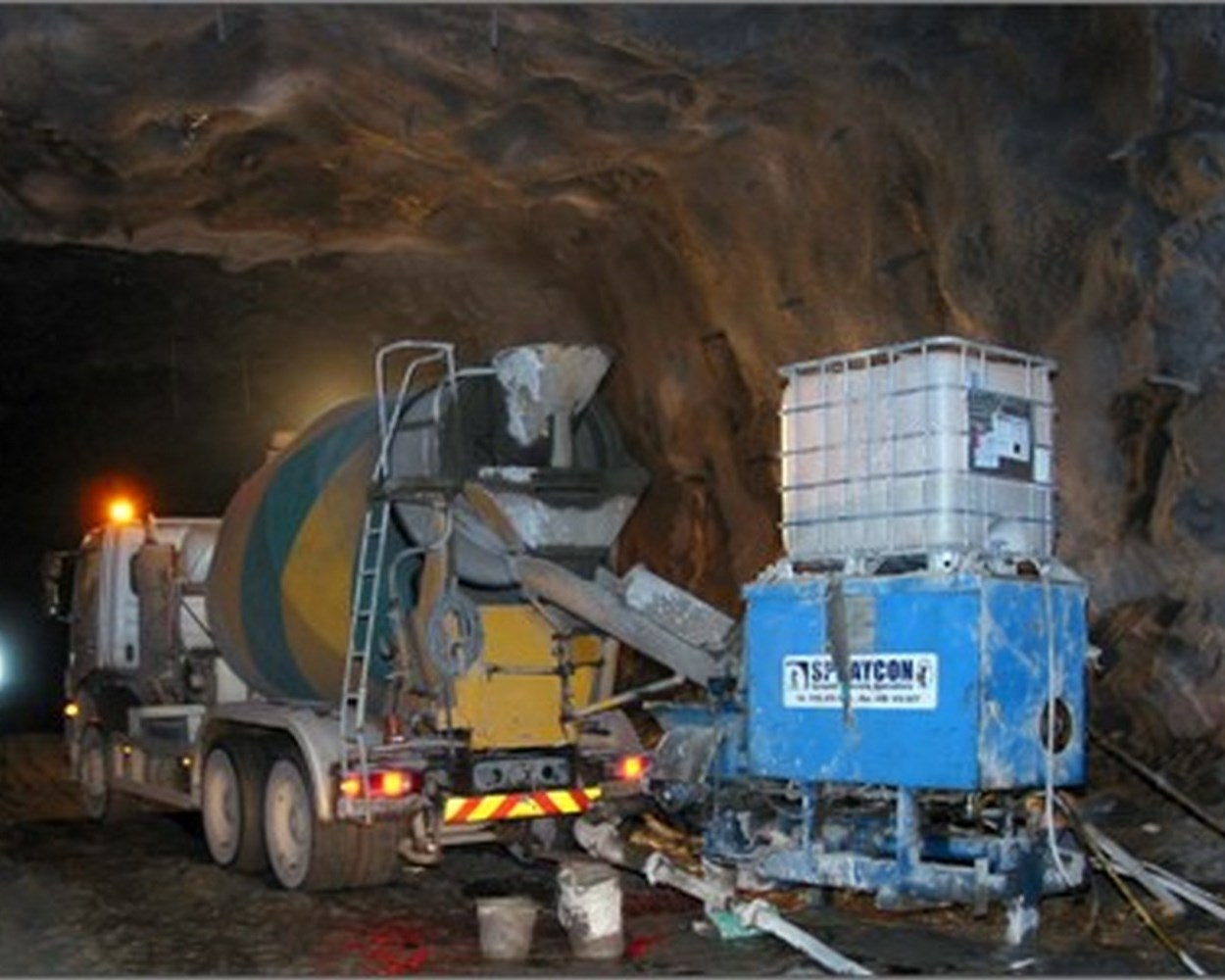 Cliffe Hill Quarry Tunnel Project