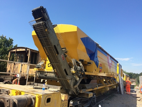Volumetric Concrete Mixer (VCM) train